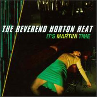 Reverend Horton Heat - It's Martini Time [CD] USA import