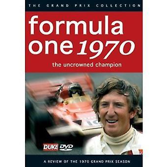 F1 anmeldelse 1970 ukronede mester [DVD] USA importerer