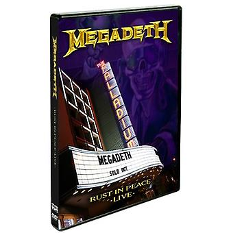 Megadeth - Rust in Peace Live [DVD] USA import