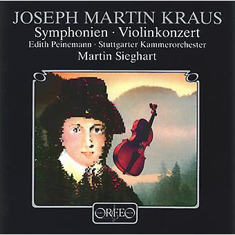 Joseph Martin Kraus - Kraus: Symfonier; Violin Concerto [CD] USA import