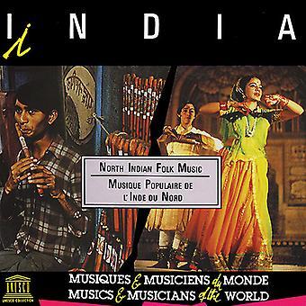Forskellige kunstner - Indien: North indiske folkemusik [CD] USA import