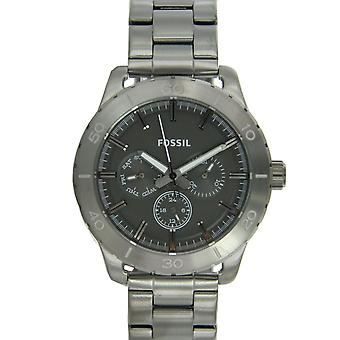 Fossil men's watch wristwatch stainless steel BQ1057