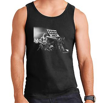 Die Ramones Gabba Gabba Hey Manchester Apollo 1977 Herren Weste
