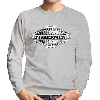 Tallebudgera Creek Fishermen 1869 Black Men's Sweatshirt