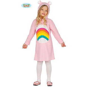 Rainbow bear Teddy bear girl costume
