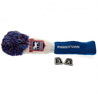 Ipswich Town Headcover Pompom (Fairway)