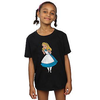 Disney flickor Alice i Underlandet klassiska Alice T-Shirt