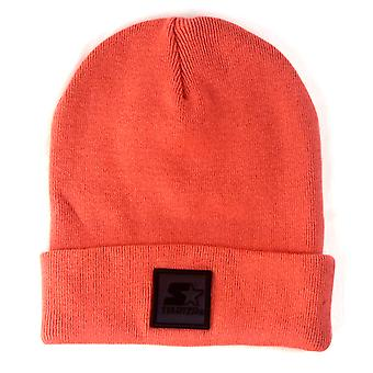 Starter Backboard Shadow Knit Beanie - Red