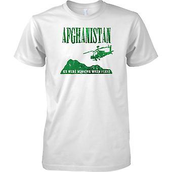 Afghanistan - waren wir gewinnen, wenn ich - britische Armee - Royal Marines - T-Shirt für Herren Links