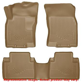 Husky Liners 98673 Tan WeatherBeater Front & 2nd Seat F FITS:NISSAN 2014 - 2014