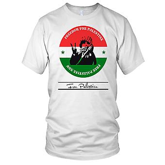 Free Palestine - The Struggle Peace Ladies T Shirt