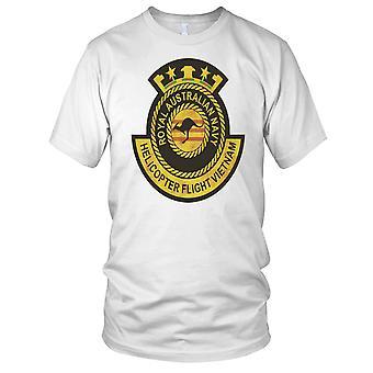 Elicottero del blu marino australiano reale volo Vietnam guerra Grunge effetto Kids T Shirt