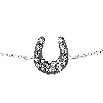Horse shoe - Bracelets de chaîne en argent Sterling 925 - W18592X