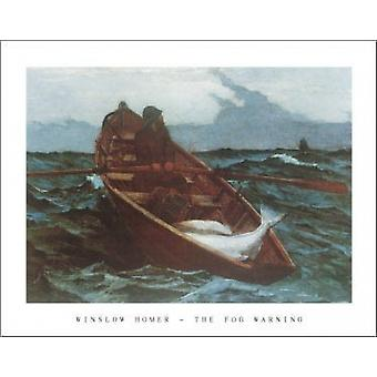 Fog Warning Poster Print by Winslow Homer (28 x 22)