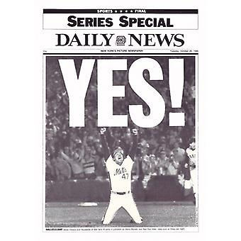 YES (86 Mets) Poster Print by NY Daily News (11 x 15)