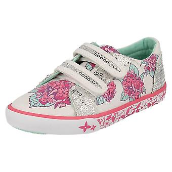 Chicas Startrite lona lavable bombas Endless Summer
