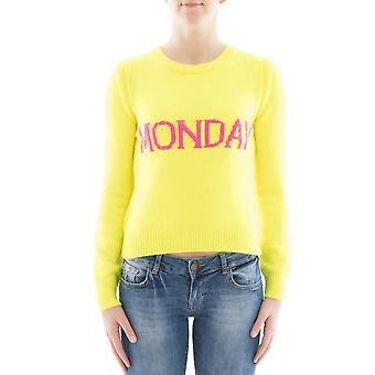 Alberta Ferretti women's 094216101027 yellow Wool Sweater
