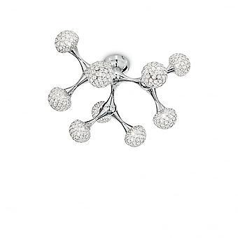 Ideal Lux Nodi Crystal Pl9