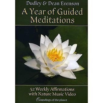 Evenson, Dudley & Dean - året for guidede meditationer [DVD] USA import