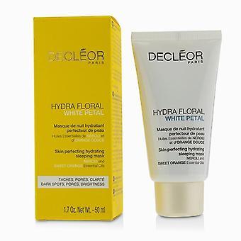 DECLEOR Hydra Floral blanc pétale Néroli & Orange douce peau Perfectrice masque sommeil hydratant - 50ml/1. 7 oz