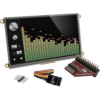 PCB design board 4D Systems uLCD-70DT-Pi