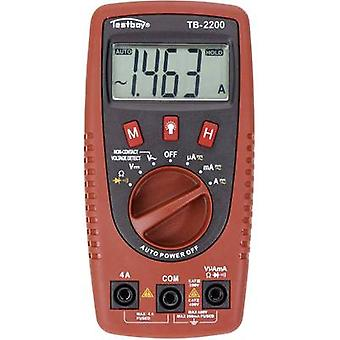 Testboy TB-2200 Handheld multimeter Digital Calibrated to: Manufacturer's standards (no certificate) CAT II 400 V, CAT