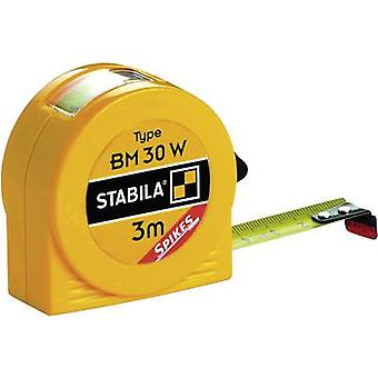 Tape measure 3 m Steel Stabila BM30W 16456