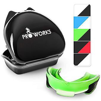 ProWorks Mouth Guard - Green/Black