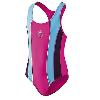BECO Girls Racerback Swimsuit - Pink