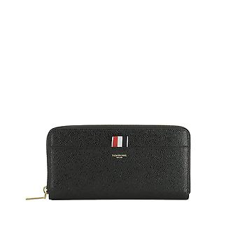 Thom Browne women's FAW012A00198001 black leather wallets