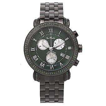 Joe Rodeo diamond men's watch - CLASSIC black 3.5 ctw