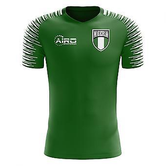2018-2019 Nigeria hjem konseptet fotball skjorte (barn)