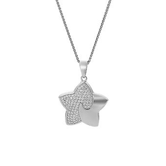 Orphelia Silver 925 Chain With Pendant Star With Zirconium  ZH-7331
