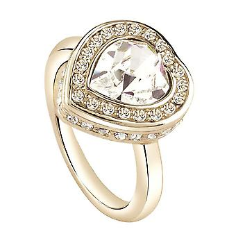 Guess ladies ring stainless steel gold UBR28508