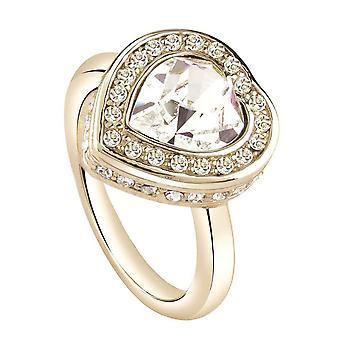Gætte damer ring rustfrit stål guld UBR28508