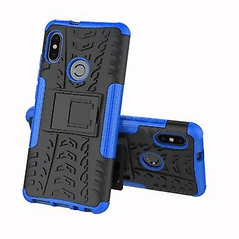 For Xiaomi Redmi rated 5 hybrid case 2 piece SWL outdoor Blau Pouch Pocket sleeve cover protection