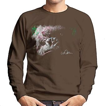 Sidney Maurer Original Portrait Of King Kong Glare Men's Sweatshirt