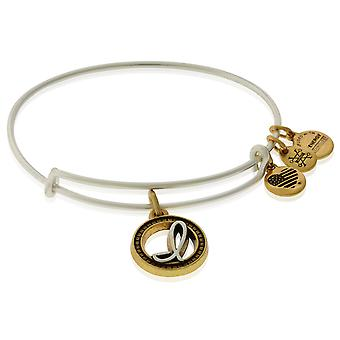 Alex and Ani Initial I Charm Bangle