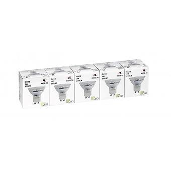 Trio Beleuchtung Reflektor modernes transparentes Klarglas Lichtquelle