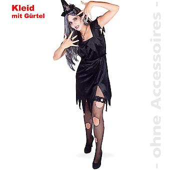 Witch dark witch costume ladies witch dress sorceress Mage Lady costume