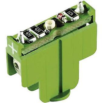 LED Green 12 Vdc RAFI 22FS+ 5.05.511.747/0500 1 pc(s)