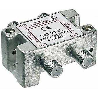Goobay SAT VT 03 SAT splitter 3-way 5 - 2450 MHz
