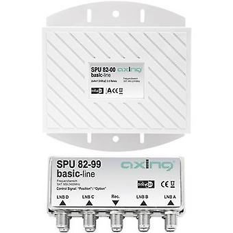 Axing SPU 82-00 Interruptor DiSEqC 4 (4 SAT/0 terrestre) 2