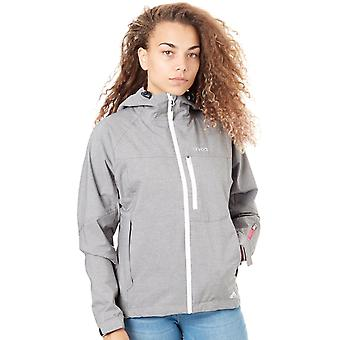 Animal Pale Grey Hillside Womens Waterproof Jacket