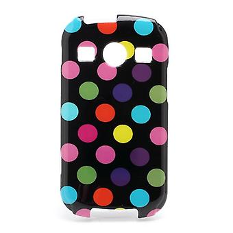 Skyddande fall för mobil Samsung Galaxy Xcover 2 S7710 svart / betsad