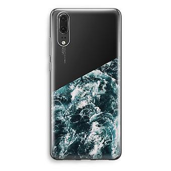Huawei P20 Transparent Case - Ocean Wave