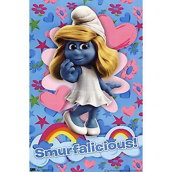 Smurfen - Smurfalicious Poster afdrukken