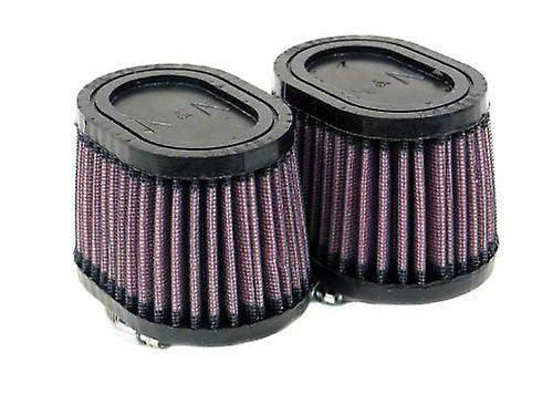 K&N RU-2452 Universal Clamp-On Air Filter  Oval Straight; 1.75 in (44 mm) Flange ID; 2.75 in (70 mm) Height; 4 in x 3 in