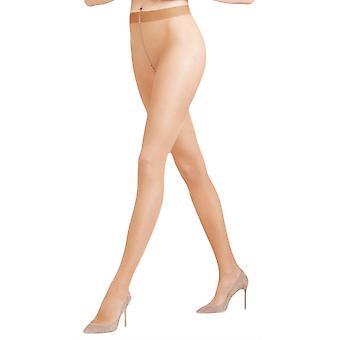 Falke Seidenglatt 15 Den transparante glanzende panty's - Sun Tan