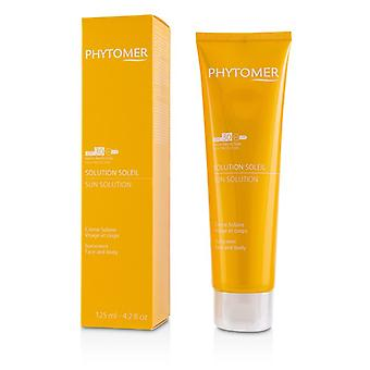 Phytomer Sun løsning solkrem SPF 30 (For ansikt og kropp) - 125ml/4.2 oz